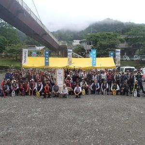 清流神流川鮎釣り大会が行われました!