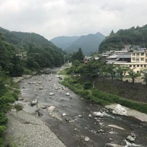 本日の神流川