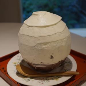 お茶と酒たすき㉕季節のかき氷 ベリーベリーホワイト (京都祇園)