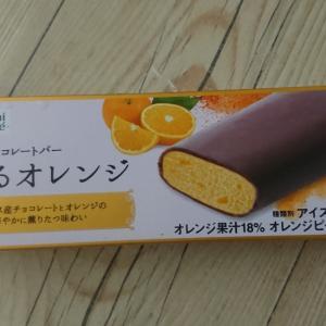 ウチカフェ贅沢チョコレートバー薫るオレンジ  (ロッテ)