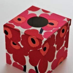 2つめキューブ型ティッシュBOX