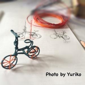 カッコいい自転車がほしくてね、見本にミニサイクルを作ったよ!