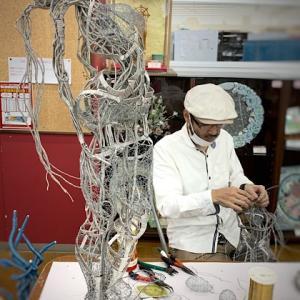 千葉ニュータウンのJOYFUL-2にての造形作家、武藤裕志先生とその作品群