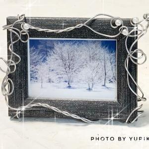 雪に吸い込まれて音の無いシンとした静けさと清澄な明るさ、そんな凛とした美しさのイメージで!