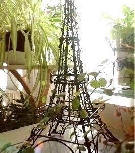 ますいが一番最初に作ったエッフェル塔は。。これだよ〜♬