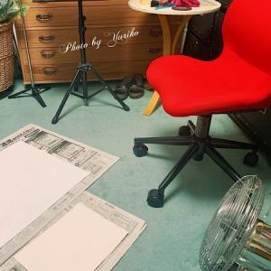 銀座ミレージャギャラリー「心に残るあのScene」展用、「今年のさくら2021」作成中〜♪