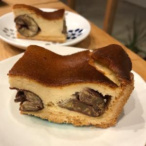 栗チーズケーキや自作
