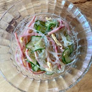 給食の春雨サラダ