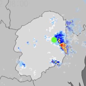 土砂降り→快晴→土砂降り