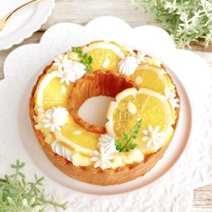 『花型レモンのリースタルト』ご紹介♪10月サンイデーWS@西武池袋本店