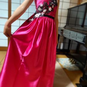 第5回ドレス制作 完成着用へ…!