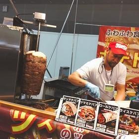 味わいロードin第11回大阪モーターショー で色々食べました♪ #角煮まん #ケバブサンド #ケバブ丼 #ケバブ #トルコ料理