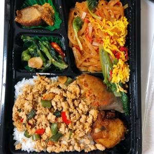大阪駅構内のタイ料理お持ち帰り弁当「チャンロイ」 (大阪/タイ料理)の日替わり弁当が美味しすぎた♪
