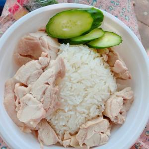 海南鶏飯を大阪でも食べられる 堀内チキンライス 天王寺で【海南鶏飯(ハイナンジーファン)】とナシゴレンをテイクアウトしました!