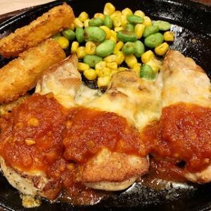 【ガスト】3種チーズのこんがりチキン ガーリックソースとビーフシチューとちょい盛りポテトを食べました!
