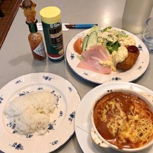 住吉大社近くの洋食屋さん♡仔鹿の日替わりサービス定食♪
