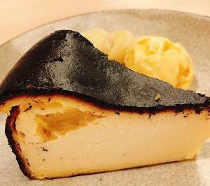 千鳥文化でバスクチーズケーキ