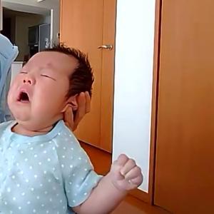 すぐに寝ちゃいました!生後50日未満の赤ちゃんも楽しめる♡【オンラインベビマレッスン】