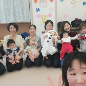 10組の皆さんとベビーマッサージ!!in港南地域ケアプラザ
