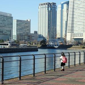 *みなとみらい海辺のお散歩。。~横浜ハンマーヘッドから大さん橋へ~♪