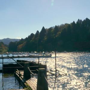*きらめく湖面と。。富士山と。。青空と。。~芦ノ湖~♪