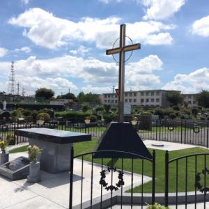 「カトリック府中墓地」お墓参り