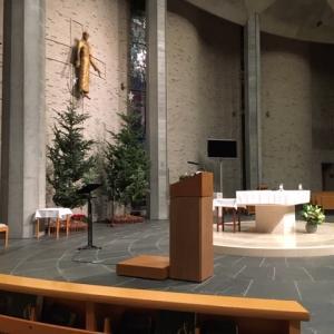 教会日記2019.12.6(カトリック麹町・聖イグナチオ教会「平日のミサ」金曜日)