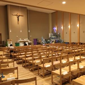 教会日記2019.12.7(カトリック末吉教会「主日のミサ」土曜日)