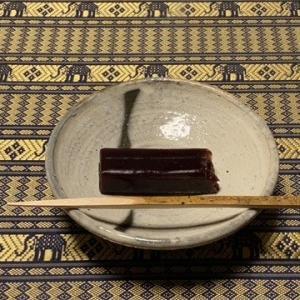 木米独特な色使いの茶碗で・・・