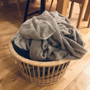 ズボラの中のズボラ 洗濯物と葛藤