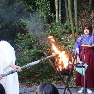 初めての「薪能」☆隈健吾「森舞台」in登米