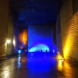 石を巡る旅・宇都宮編②「大谷資料館」地下採掘跡が巨大なアート空間に~♪