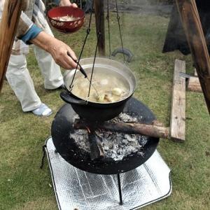 秋の実り「芋煮会」~♪
