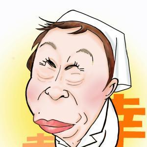 赤木春恵さんの似顔絵