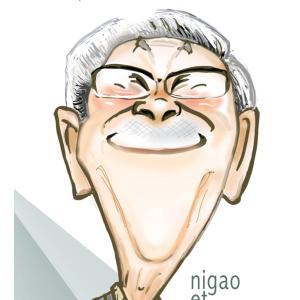 小松政夫さんの似顔絵