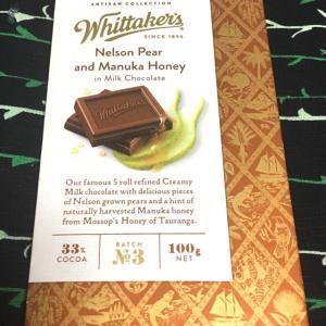 ペア&マヌカハニー  ミルクチョコレート:ウィッタカー