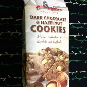 ダークチョコレート&ヘーゼルナッツクッキー:メルバ