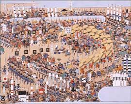 探検476 合戦後の戦死者弔い作法
