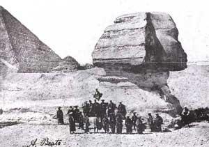 探検488 武士団と砂に埋もれたスフィンクス