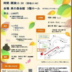 11/28公演のお知らせ