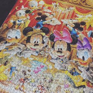 ディズニー「世界最小ジグソーパズル」