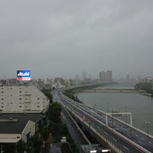 台風19号!!