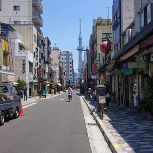 合羽橋通り「盃屋 かづち」!!