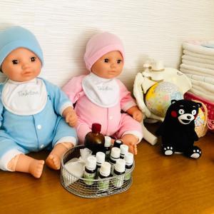 助産院で育児ママたちのアロマテラピー