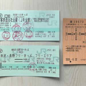 青春18 長野・山梨の旅