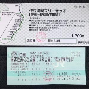 青春18+伊豆満喫フリーきっぷの旅