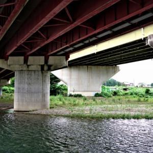入間川 上橋~新豊水橋 –2 新豊水橋 2021-07-11