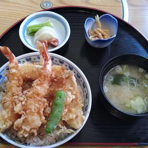 天ぷら屋でランチ