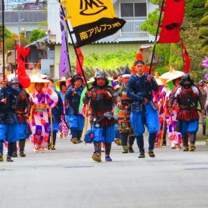 大井夫人隊「信玄公祭り」へ出陣