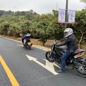 2020年1月22日 広州バイク旅
